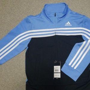 Adidas black  and blue